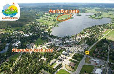 Alavuden uusi asuinalue Aurinkoranta sijaitsee aivan Alavuden keskustan tuntumassa. Matkaa keskustan palveluihin on alle 2 km.