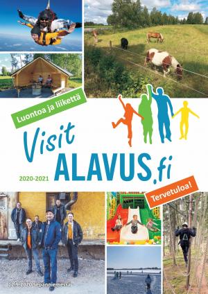 Alavuden Kehitys Oy julkaisee vuosittain Visit Alavus -matkailuesitteen. Tarjolla näkyvyyttä Alavuden ja lähiseudun yrityksille!