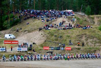 SML Motonet SM-MOTOCROSS 2020 osakilpailut Alavuden motocross-radalla Murronnevalla 29.-30.8.2020