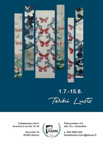 Terhi Luodon näyttely Taidekeskus Harrissa 1.7.-15.8.2021