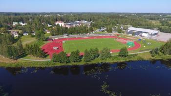 Suomen kaunein urheilukenttä, Alavuden Keskusurheilukenttä.